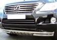 Защита переднего бампера из нержавеющей стали Lexus LX570