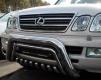 Кенгурятник из нержавеющей стали Lexus LX470