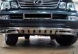 Защита переднего бампера из нержавеющей стали Lexus LX470