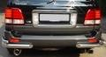 Защита заднего бампера из нержавеющей стали Lexus LX470