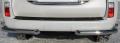 Защита заднего бампера (уголки) 76,1/42,4 мм Lexus GX460
