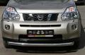 Защита переднего бампера из нержавеющей стали Nissan X-Trail