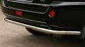 Защита заднего бампера из нержавеющей стали Nissan X-Trail