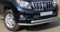 Защита переднего бампера нижняя 76,1/75 мм Toyota Land Cruiser Prado 150