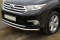 Защита переднего бампера нижняя 60,3 мм для Тойота Хайлендер
