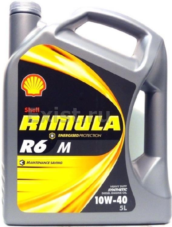 Масло моторное синтетическое Shell Rimula R6M 10W-40 4л